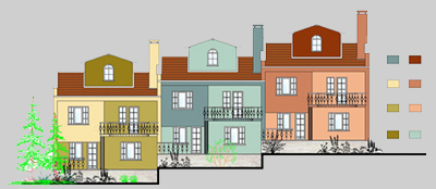 Bina Boyama Programı ile Cephe Renklendirme, Bina Cephe Mantolama ve Boya Renklendirme, Projelendirme