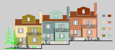 Dış Cephe Sanal Boyama Programı Archicad Eğitimi, Bina Cephe Mantolama ve Boya Renklendirme, Projelendirme