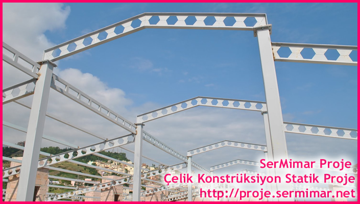 Prefabrik Statik Projeleri Çizilir, Çelik yapı statik proje , çelik yapı proje , çelik çatı statik proje ,çelik çatı proje işleri